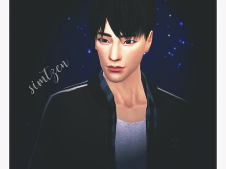 The Sims 4 : Lee Jeno NCT [CC List + Tray Files Download]