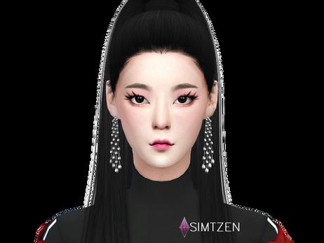 The Sims 4 : Choi Jisu 'Lia'  ITZY [CC List + Tray Files Download]