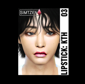 CC Download : Lipstick 03 [Taehyung Lips]