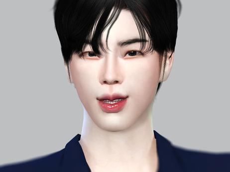 심즈4 : 방탄소년단 김석진 (심만들기)