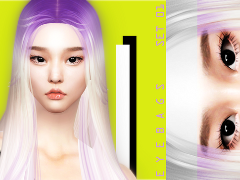 Download Sims 4 CC : Eye Bags 01