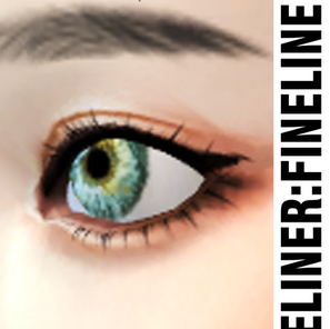 CC Download : Eyeliner - Fineline - 01