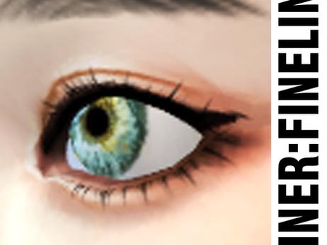 CC Download : Eyeliner - Fineline - 01