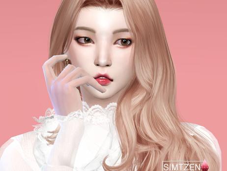 CAS Taeyong Girl Version 🌹 엔시티 이태용 여자 버전 심만들기 | + NCT K-Drama in the Sims 4