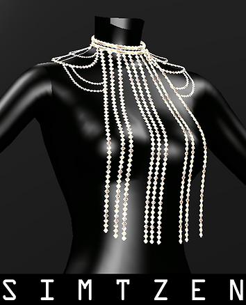 Rhinestones Body Chain