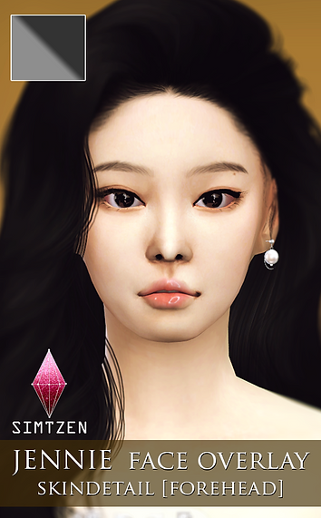 BLACKPINK Jennie Skin Detail Overlay v1