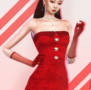BLACKPINK Jennie SOLO Red Dress now available for everyone!