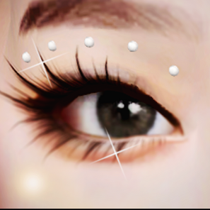 New Years Gift! 3D Face Gems - Eye Crystals   SIMS 4 CC DOWNLOAD
