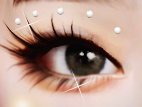 New Years Gift! 3D Face Gems - Eye Crystals | SIMS 4 CC DOWNLOAD