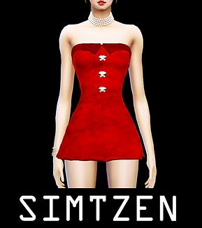 BLACKPINK Jennie - Solo Red Dress