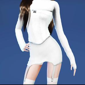 Sims 4 CC Download   Chungha 'Stay Tonight' Dress w Corset