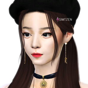 The Sims 4 : Tzuyu | TWICE [CC List]