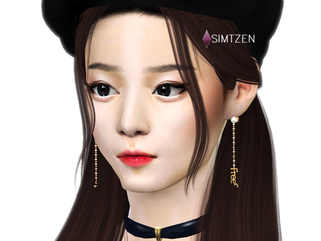 The Sims 4 : Tzuyu | TWICE [CC List + Tray Files Download]