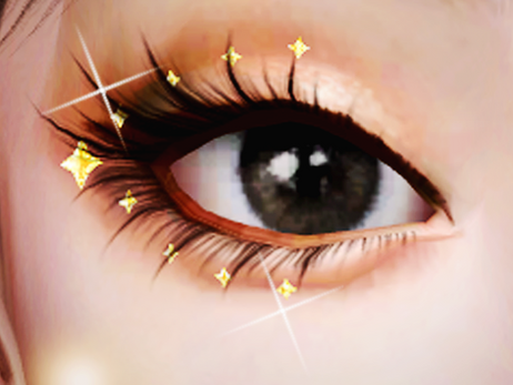 Patreon New Years Gift! 3D Face Gems - Eye Crystals | SIMS 4 CC DOWNLOAD