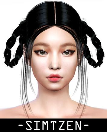 Jennie Hairstyle 011