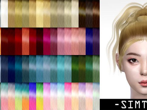Download Sims 4 CC : LIA Hairstyle 016