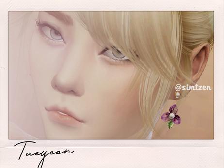 The Sims 4 : Kim Taeyeon [CC List + Tray Files Download]