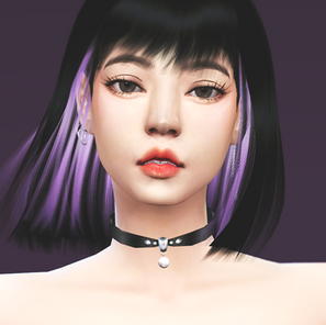 Lovesick Girls Lalisa Hair CC - Now available for everyone!