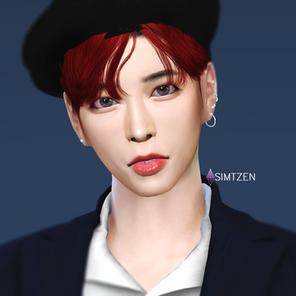 Creating TXT Taehyun in the Sims 4 🌻 투모로우바이투게더 강태현 (심만들기)