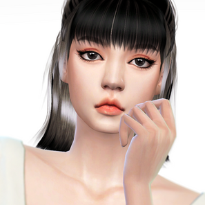 Lisa Pretty Savage Hair 004 - Now available for everyone!