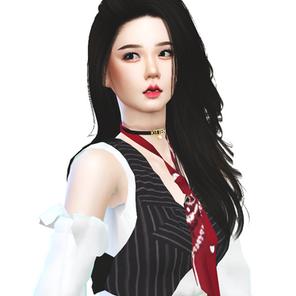 BLACKPINK Jisoo 'Lovesick Girls' MV Outfit   Sims 4 CC Download