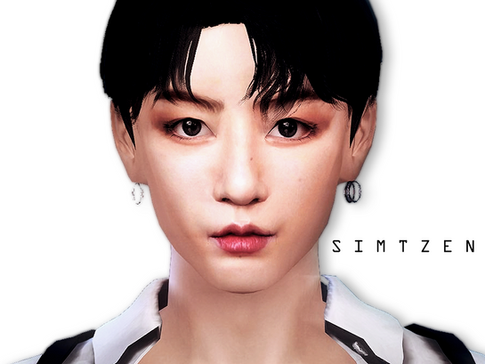 The Sims 4 : Jungkook BTS [CC List + Tray Files Download] ver.03