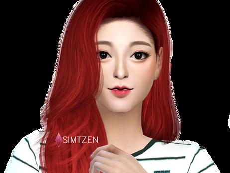 The Sims 4 : Shin Yuna  ITZY [CC List + Tray Files Download]