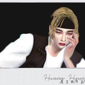 Hyunjin God's Menu Hair CC - Now available for everyone!