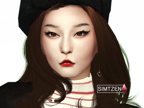 The Sims 4 : Kang Seulgi | Red Velvet [CC List + Tray Files Download]