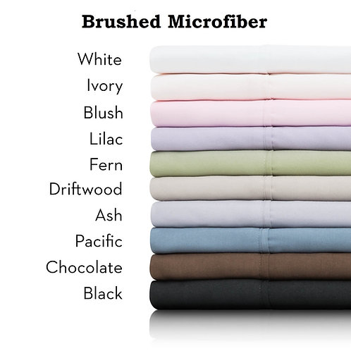 BRUSHED MICROFIBER
