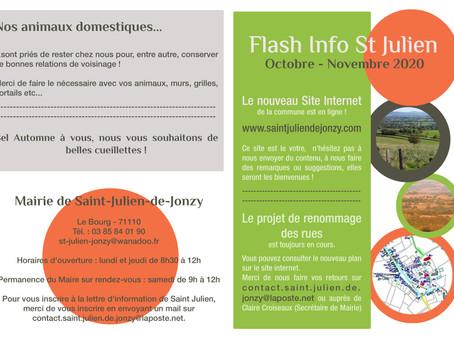 Flash Info octobre-novembre 2020
