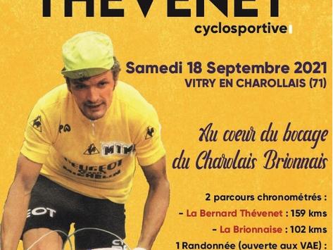 Course Cycliste Bernard Thevenet 18 septembre 2021
