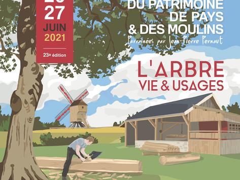 Participez aux Journées du Patrimoine de Pays et des Moulins - 26 et 27 juin 2021