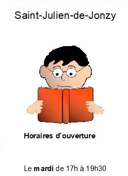 Bibliothèque - reprise des horaires d'ouverture