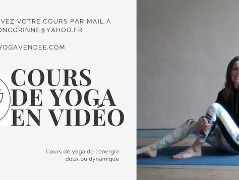 Cours de yoga depuis chez soi