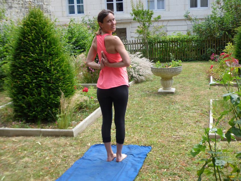 Yoga Corinne Cosson