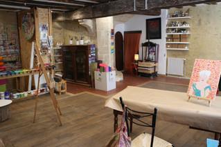 Le cabinet d'art-thérapie ré-ouvert
