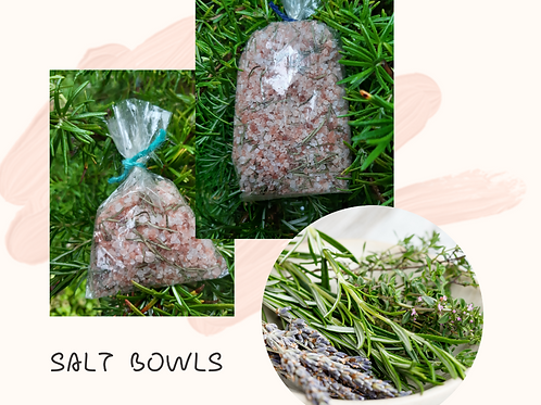 Salt Bowl Bags - Small