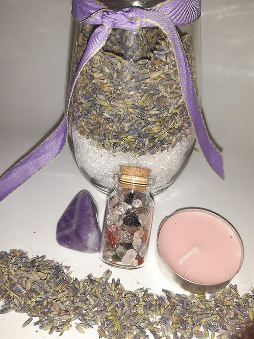 Psychic / third eye Ritual in a Jar