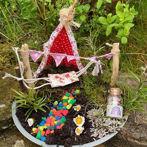 DIY Outdoor Craft - Fairy Garden