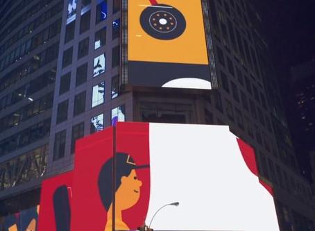 Time Square anim  '15