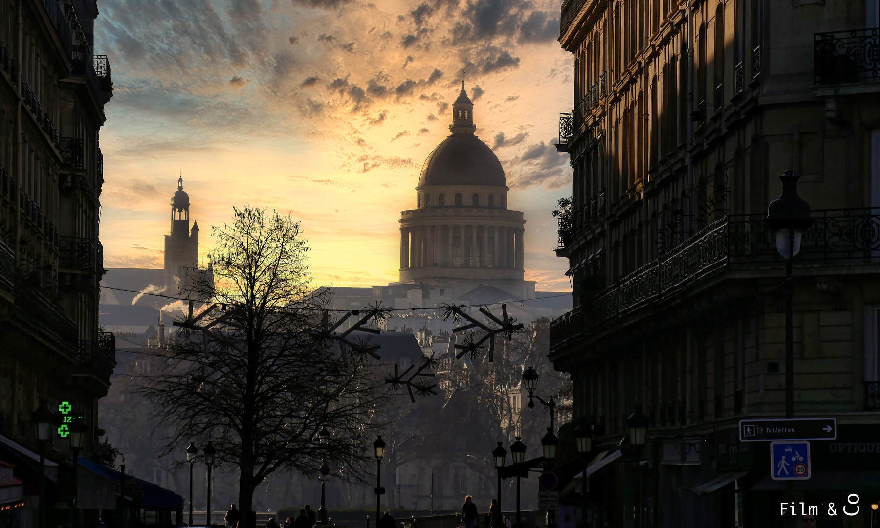 Panthéon Sunset