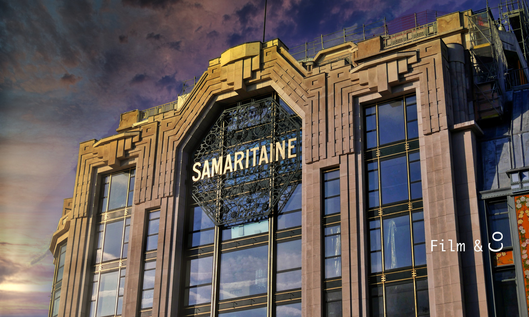 Samaritaine Sunset