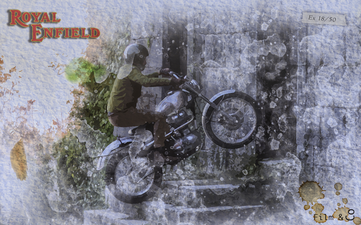 Royal-Enfield-Classic 500 Trial Vintage