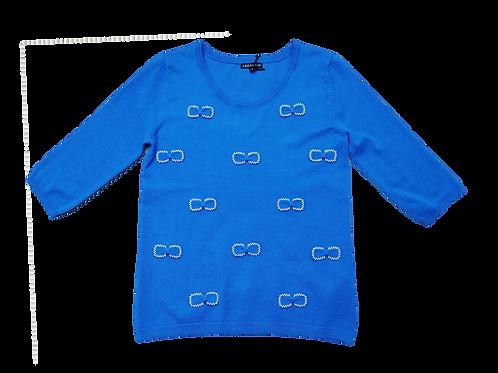 Pull blauw strik LeoUgo