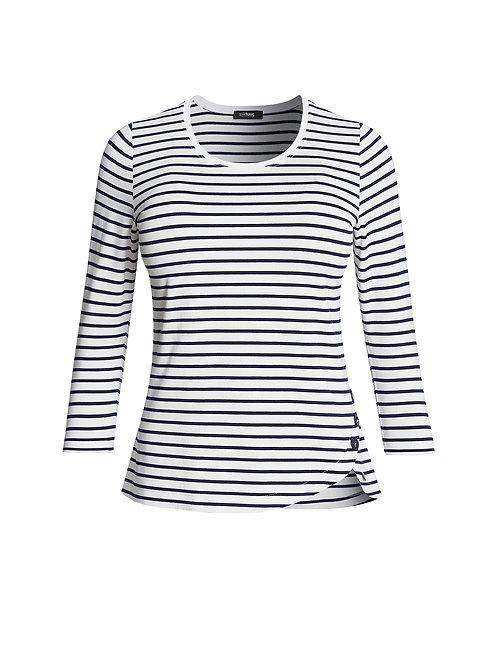 T-shirt marine Gollehaug