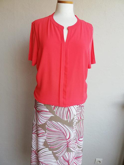 T-shirt wit corail Bianca