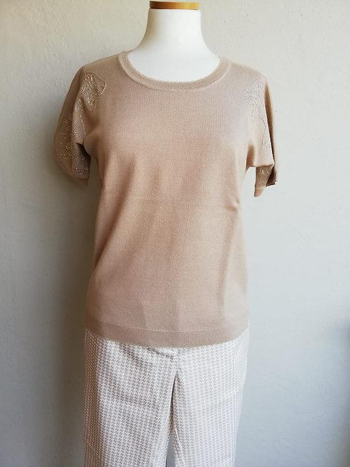 T-shirt korte mouw Léo Ugo