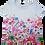Thumbnail: T-shirt wit onderaan, bloem boven LeoUgo