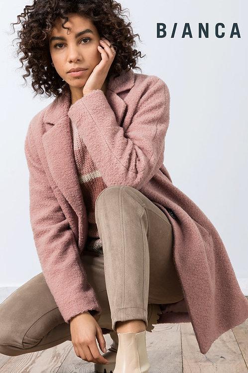 Lang roze teddy vest Bianca